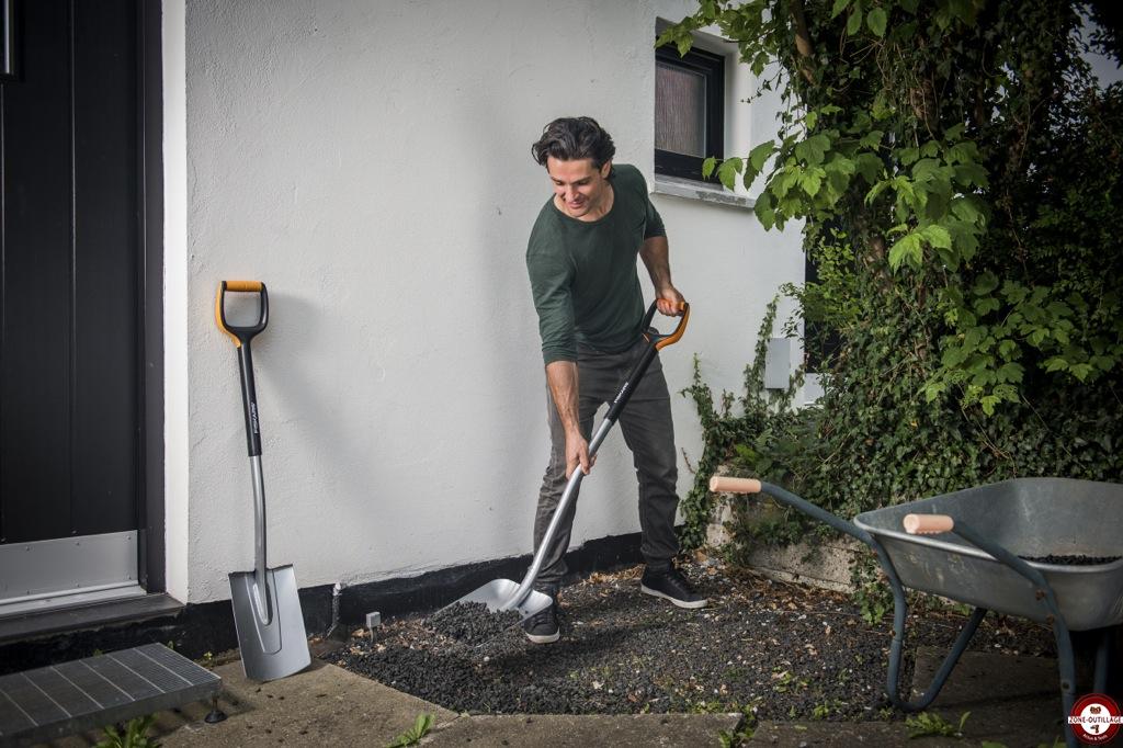 Nouvelle gamme xact fiskars alliance parfaite du confort for Outil de jardinage fiskars
