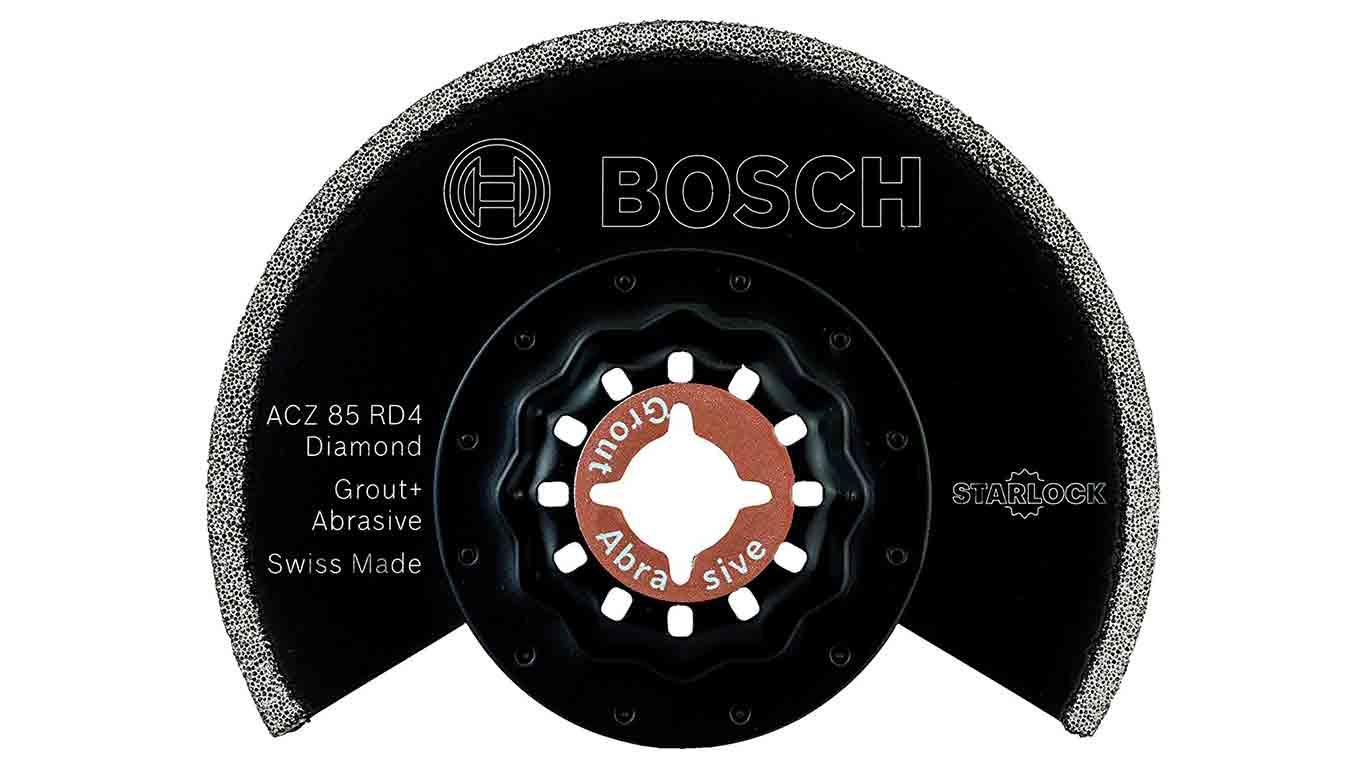 Lame diamant pour Scie segment 85 mm accessoire Starlock Bosch 2609256972 ACZ 85 RD Lame