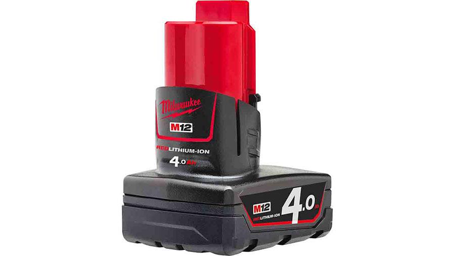 avis et prix Batterie MILWAUKEE 12 V et 4 Ah Red Li-Ion M12B4 - 4932430065