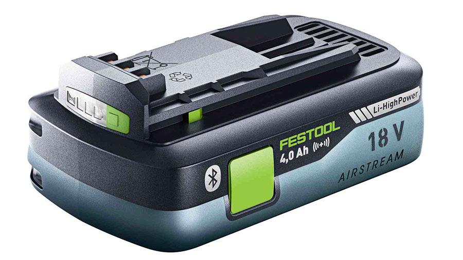 Batterie Festool haute puissance BP 18 Li 4,0 HPC-ASI