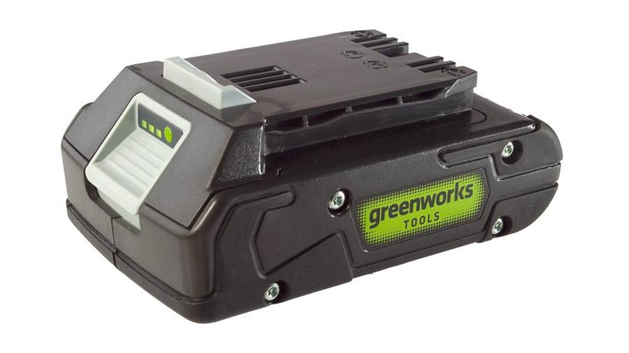 Test complet : Batterie greenworks 24 V 2,0 Ah G24B2 2902707