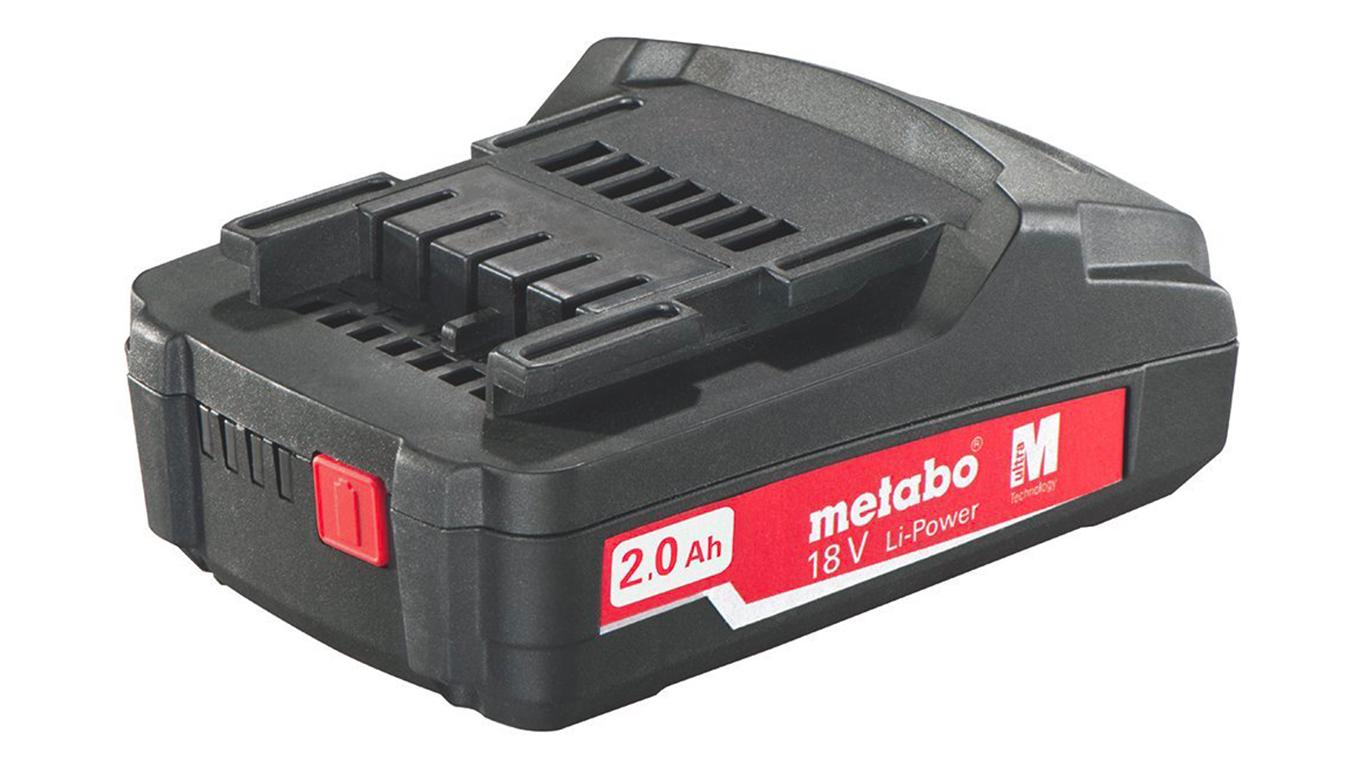 Batterie Metabo 18 V 2.0 Ah 625596000