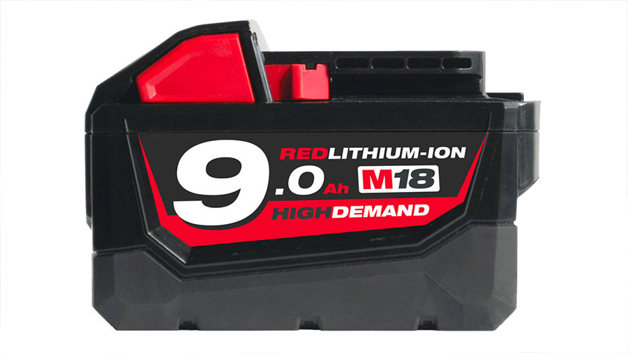avis et prix Batterie Milwaukee 18 V 9.0 Ah M18 B9 High Demand