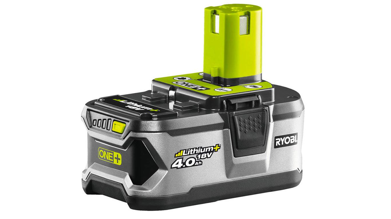 Ryobi Batterie 18V 4Ah Li-Ion RB18L40 gn