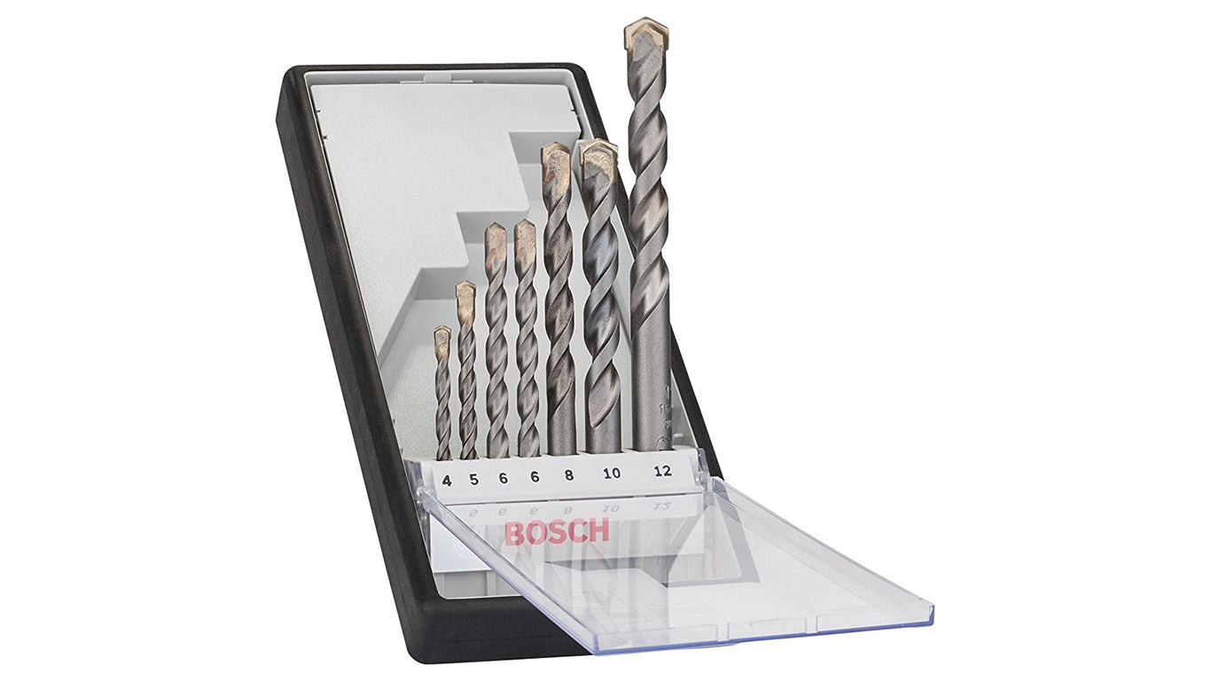 Bosch 2607010545 Set de 7 Forets à béton Robust Line CYL-3 4/ 5/ 6/ 6/ 8/ 10/ 12 mm