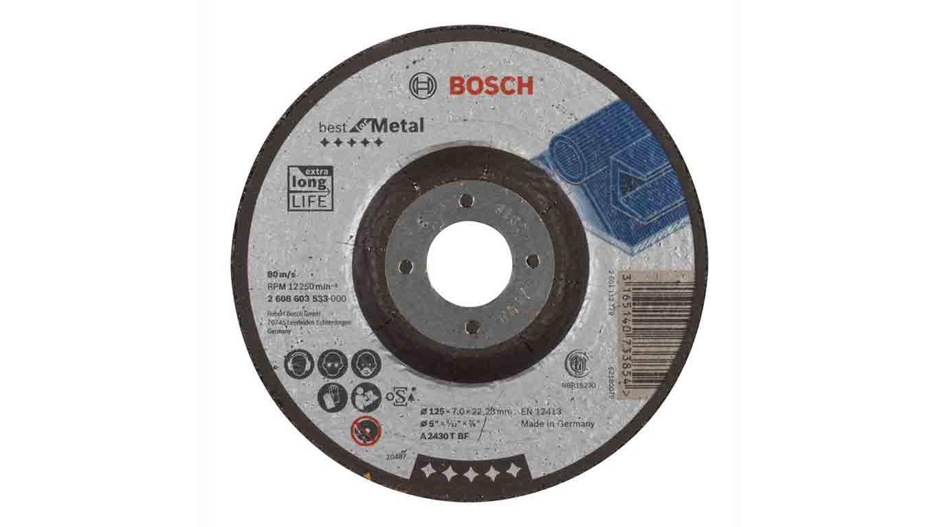 Test avis et prix disque tron onner bosch 2608603533 zone outillage - Disque a tronconner ...