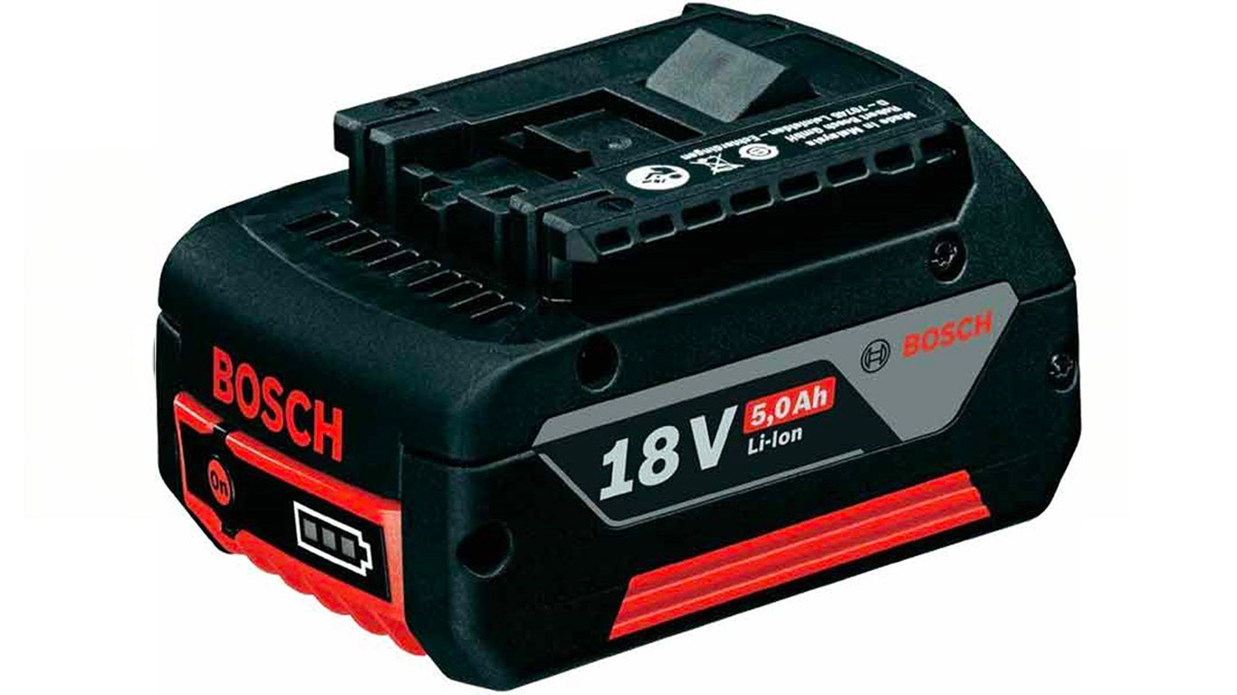 BOSCH Batterie GBA 18 V Li Ion 5 Ah - 1600A002U5