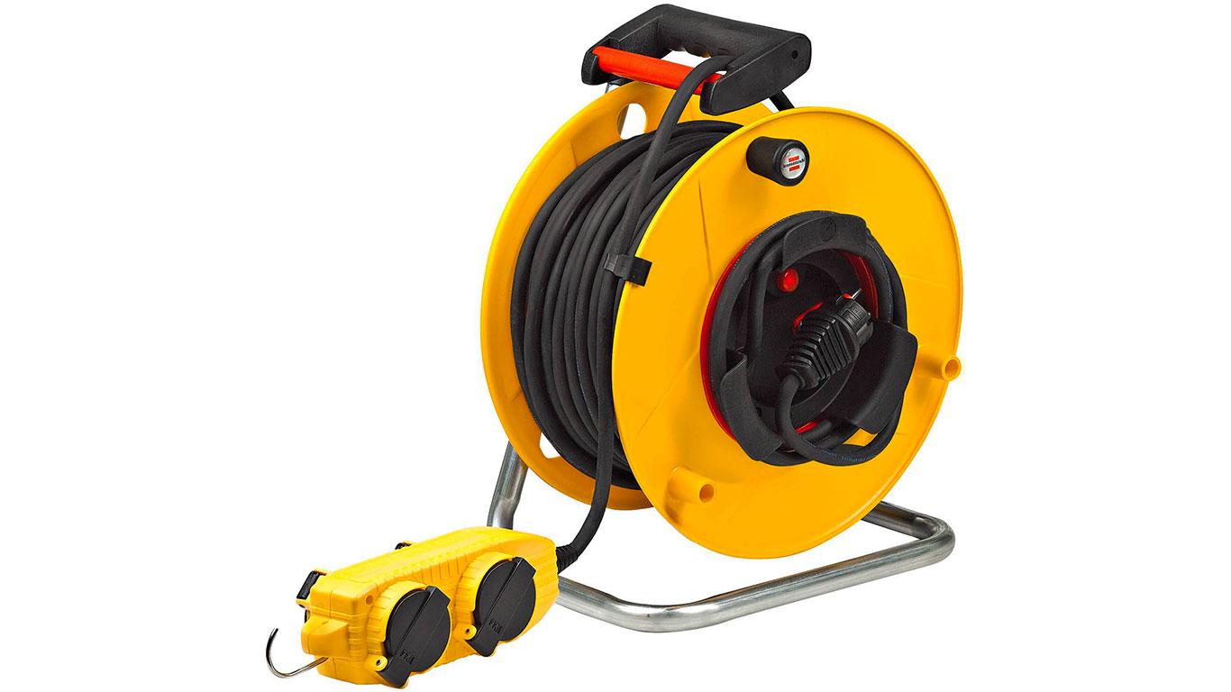 Brennenstuhl 1202461 Enrouleur de câble électrique Standard BT-RB Pro IP44 40 m H07RN-F 3G x 1,5