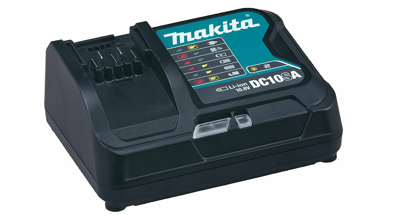 test avis et prix chargeur rapide de batteries makita dc10sa zone outillage. Black Bedroom Furniture Sets. Home Design Ideas