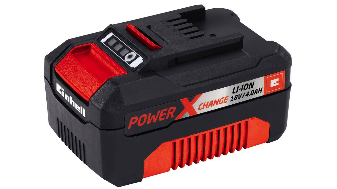 Einhell Batterie du système Power X-Change Li-Ion, 18 V, 4,0 Ah