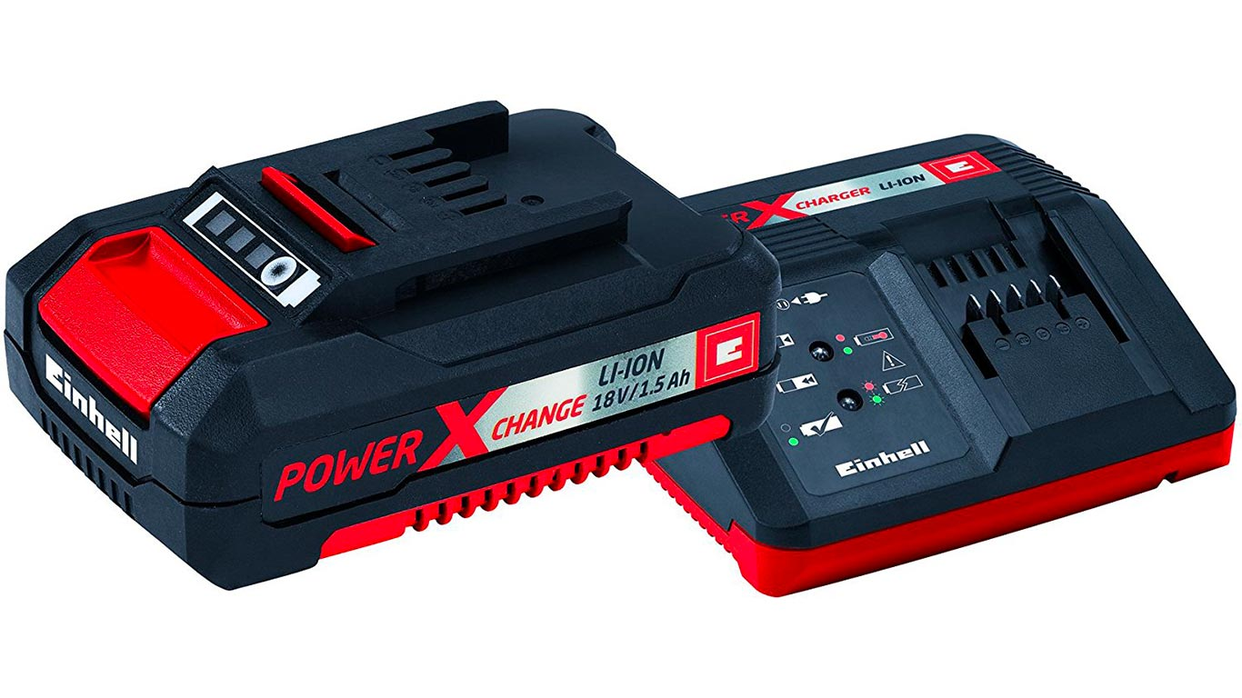 Einhell pack batterie du système Power X-Change Li-Ion, 18 V, 1.5 Ah