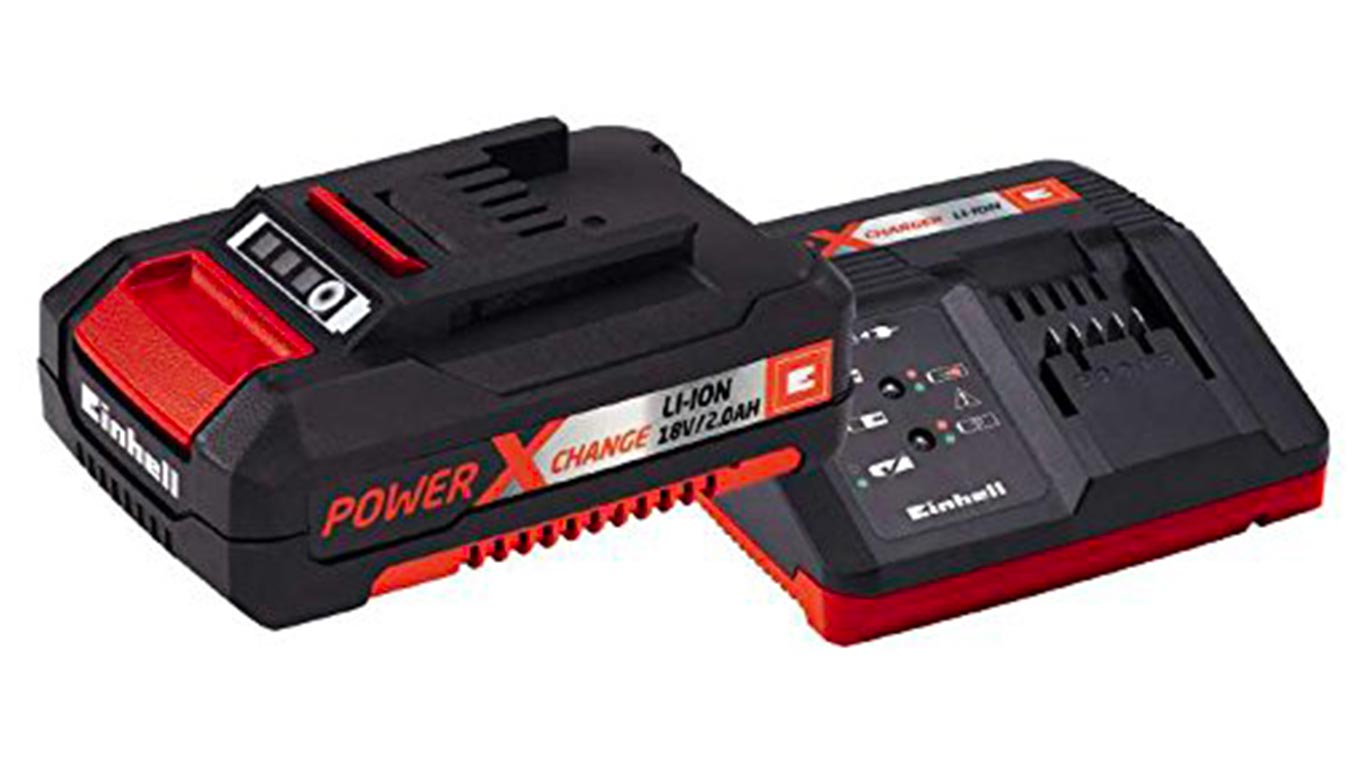 Einhell pack batterie du système Power X-Change Li-Ion, 18 V, 2.0 Ah