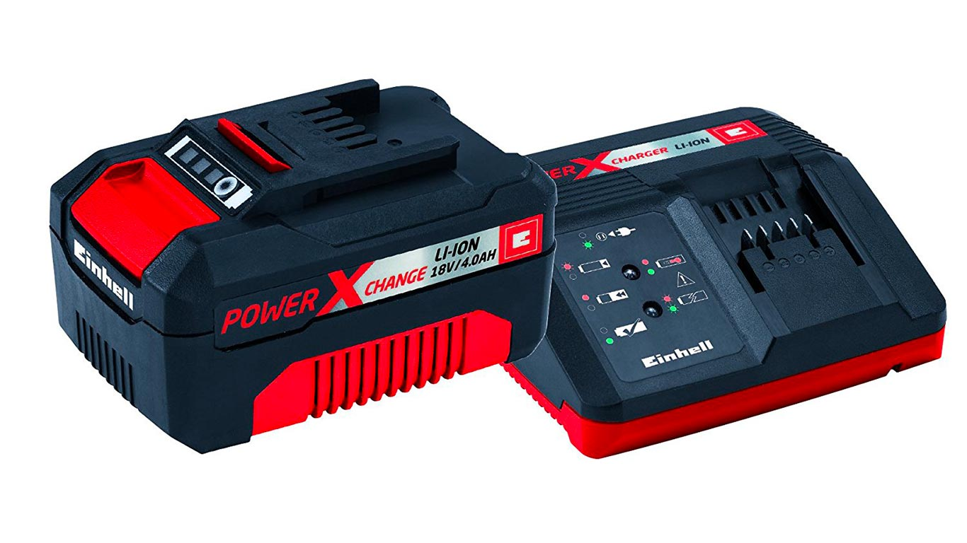 Einhell pack batterie du système Power X-Change Li-Ion, 18 V, 4.0 Ah