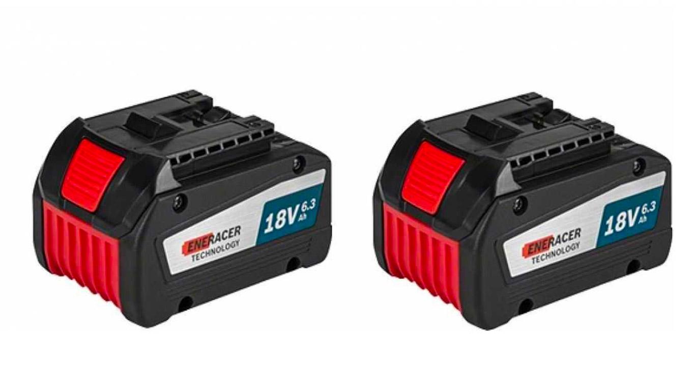 Pack Batterie GBA 18 V 6,3 Ah Li-Ion eneracer