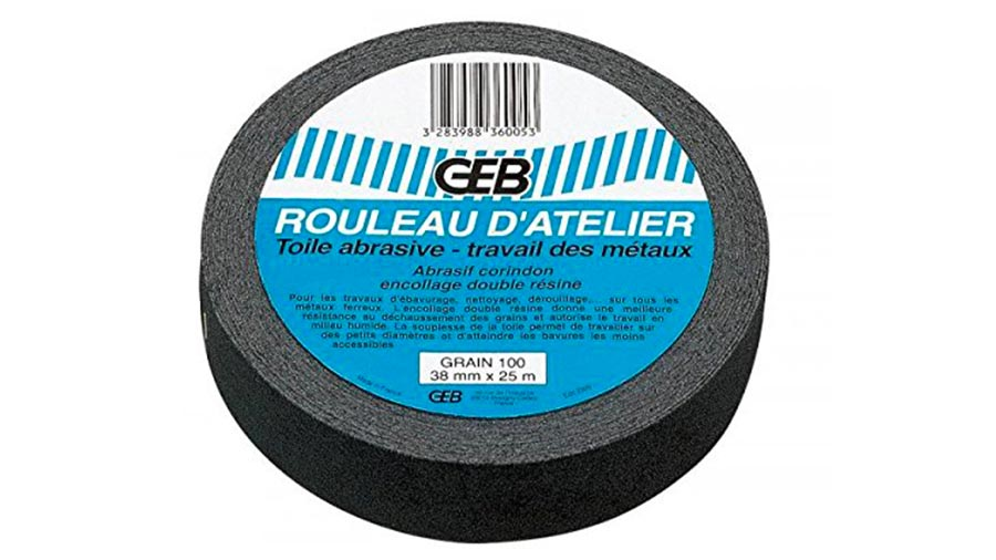 GEB 836005 Rouleau atelier Abrasif 100 prix pas cher