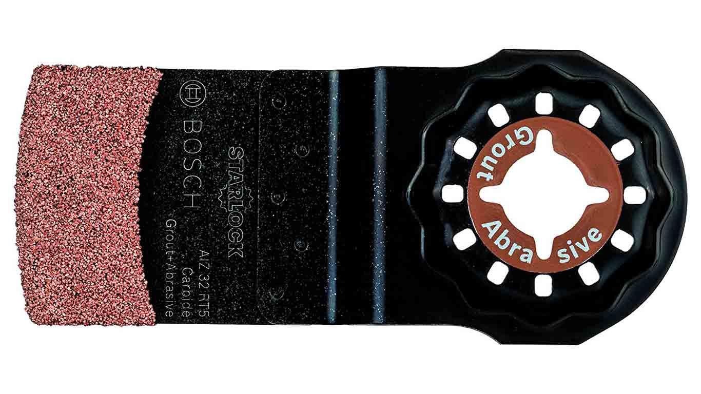 Lame de scie plongeante Starlock à concrétion carbure AIZ 32 RT 32 x 30 mm pour outil multifonctions Bosch 2609256C48