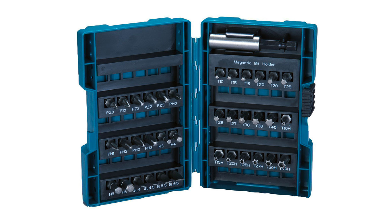 Makita B-28606 Assortiment d'embouts 37 pieces