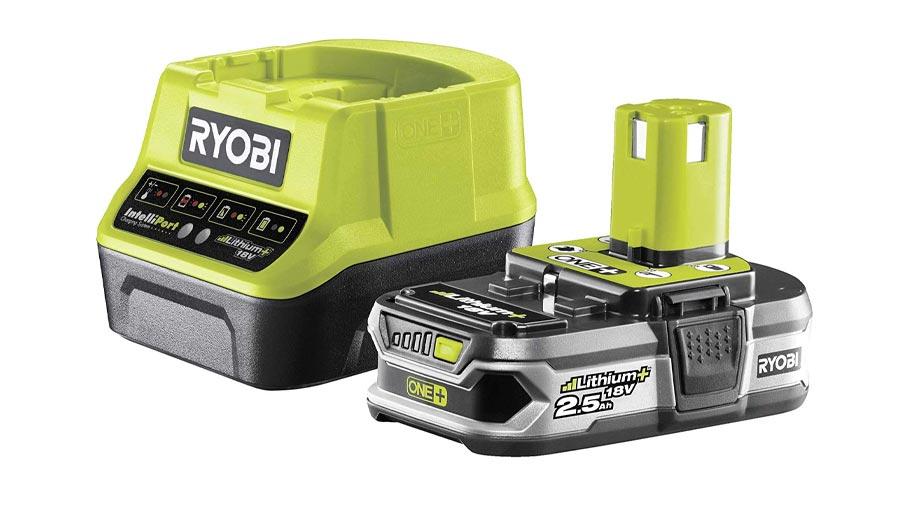 Pack batterie et chargeur 18V 2,5 RC18120-125G Ryobi