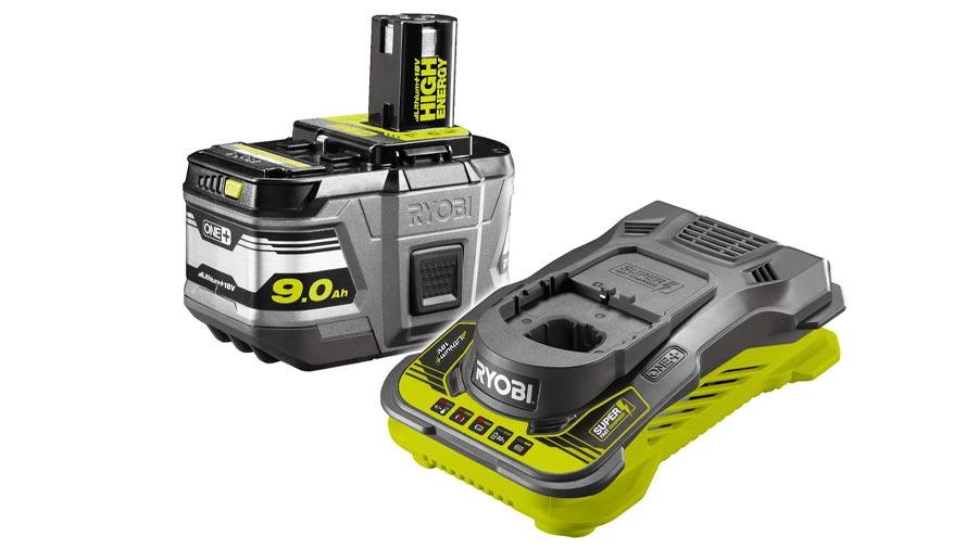 Pack batterie et chargeur 18V 2,5 RC18150-190 Ryobi