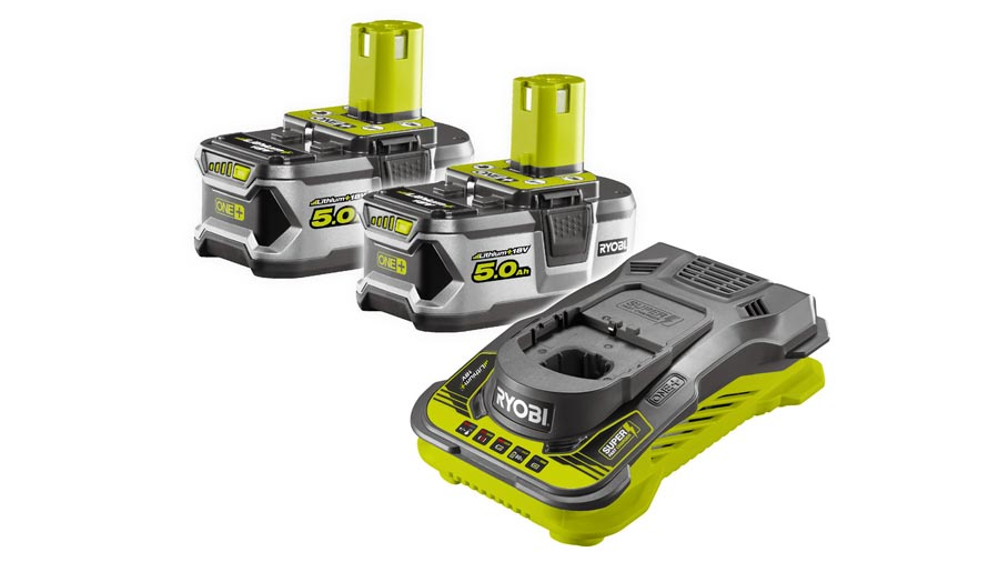 Pack batterie et chargeur 18V 2,5 RC18150-250 Ryobi
