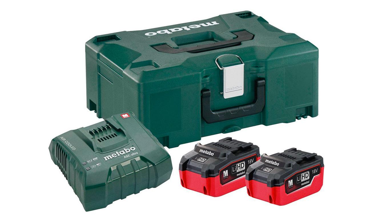 test avis et prix pack batteries metabo 18 v 5 5 ah 685077000 zone outillage. Black Bedroom Furniture Sets. Home Design Ideas