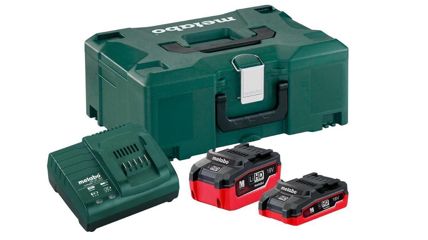 Pack batterie 18 V Metabo 3.1 Ah et 5.5 Ah 685079000