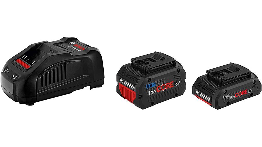 Pack chargeur et batteries ProCORE18V 4,0 Ah + ProCORE18V 8,0 A + GAL 1880 CV Bosch Professional