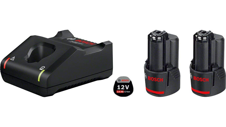 Pack chargeur 2 batteries GBA 12V 2.0Ah + GAL 12V-40 Professional
