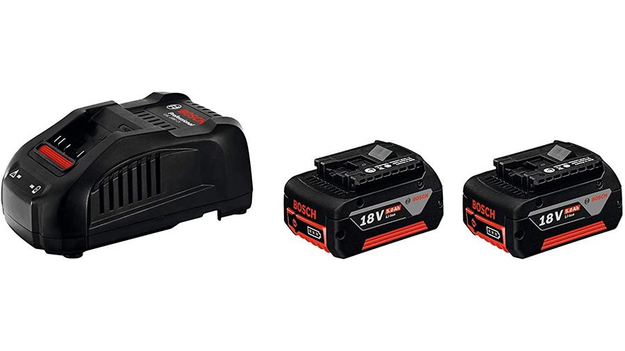 Pack chargeur 2 batteries ProCORE18V 5.0Ah + GAL 1880 CV Bosch Professional