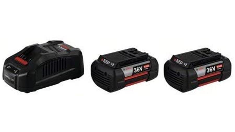 Pack chargeur 2 batteries GBA 36V 6.0Ah + GAL 3680 CV Bosch Professional