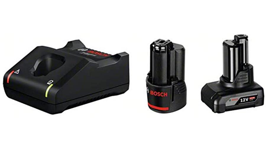 Pack chargeur et batteries 1 batterie GBA 12V 2.0Ah + 1 batterie GBA 12V 4.0Ah + GAL 12V-40 Professional