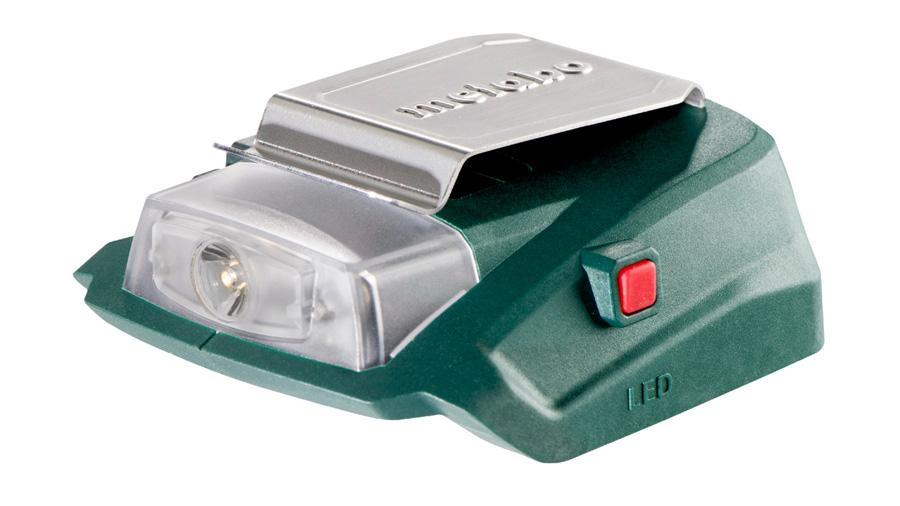 Test et avis de l'adapateur PA 14.4-18 LED-USB Metabo