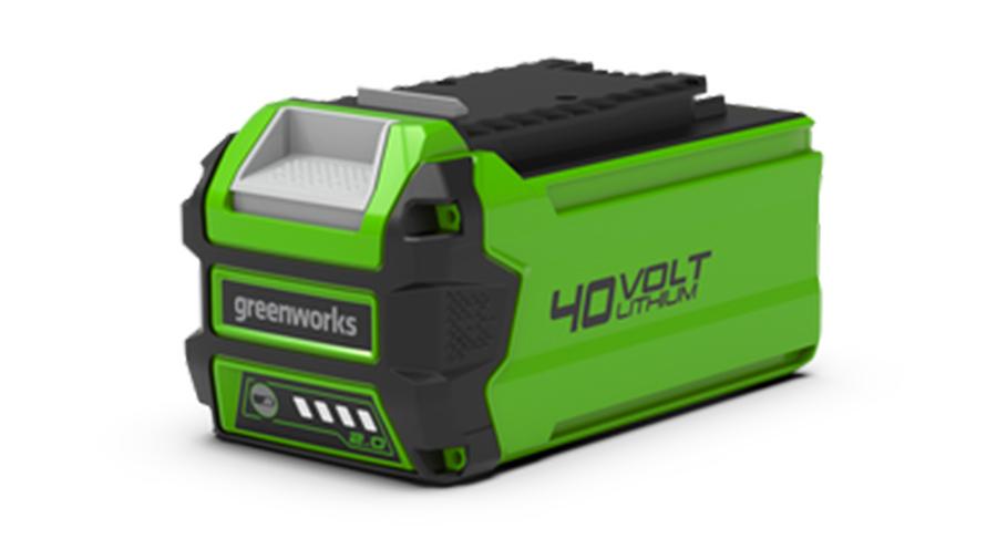 Test complet : Batterie greenworks 40 V 2,0 Ah G40B2