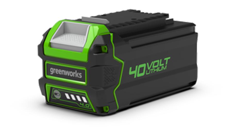 Test complet : Batterie greenworks 40 V 6,0 Ah G40B6