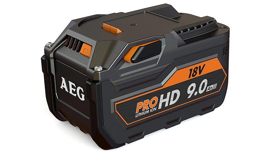 test et prix batterie AEG 18 V 9.0 Ah L1890RHD