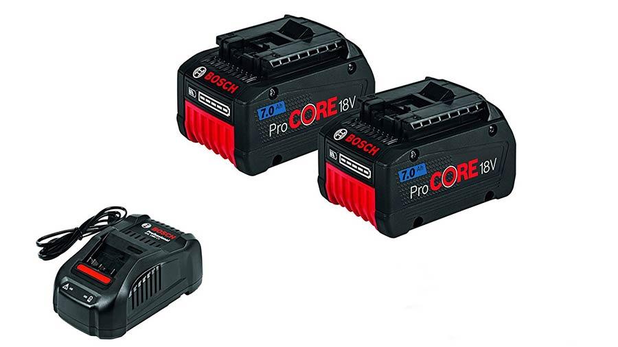 test et avis BOSCH Batterie GBA 18 V Li-Ion GBAProCORE18V 7,0 Ah Gal 1880 CV