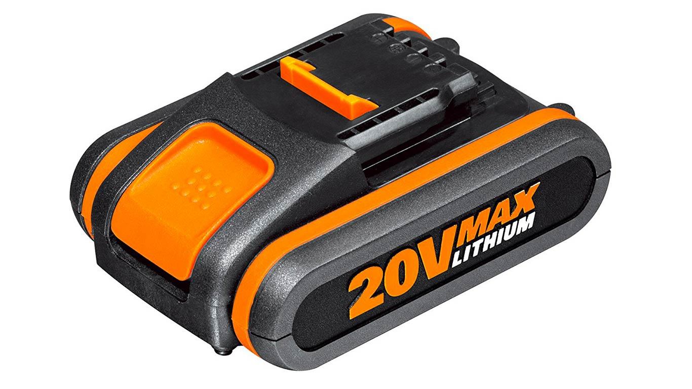 WORX WA3551 2.0Ah batterie au lithium de 20 V