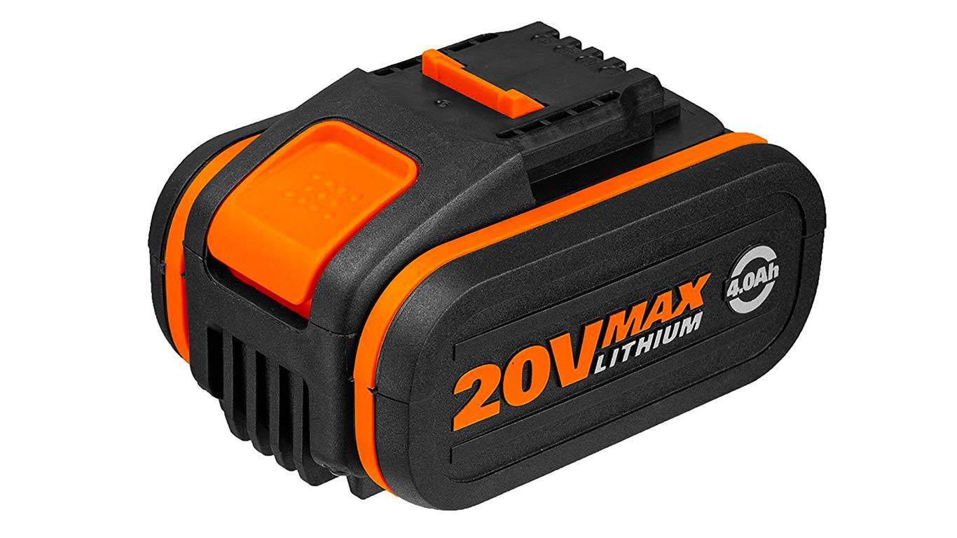 WORX WA3553 4.0Ah batterie au lithium de 20 V