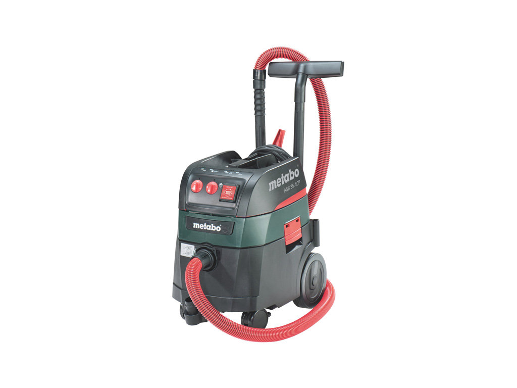 aspirateur de chantier asr 35 m acp metabo fiche technique test comparatif et avis zone. Black Bedroom Furniture Sets. Home Design Ideas