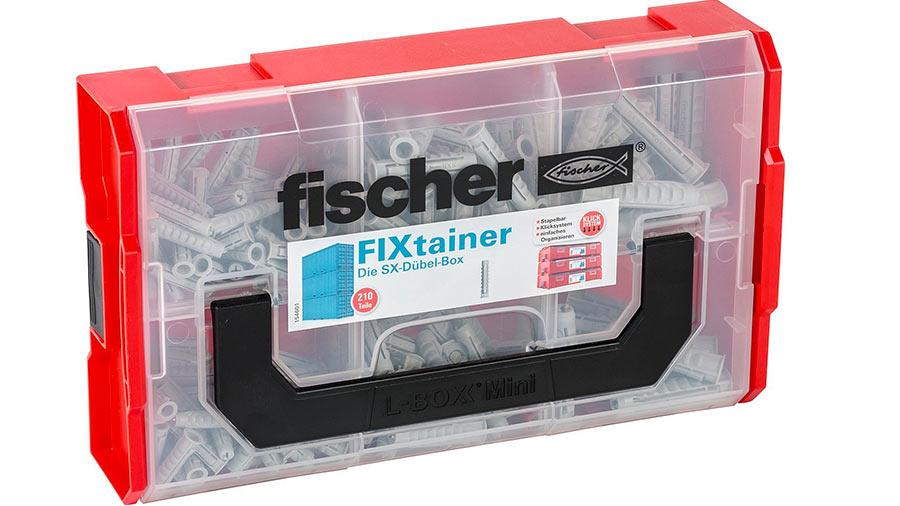 Assortiment de chevilles SX/UX fischer en coffret FIXtainer prix pas cher