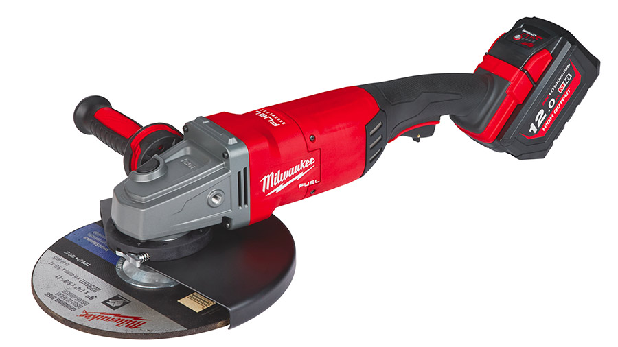 Test complet : Meuleuse angulaire sans fil Milwaukee M18 FLAG230XPDB-121C FUEL 230 mm