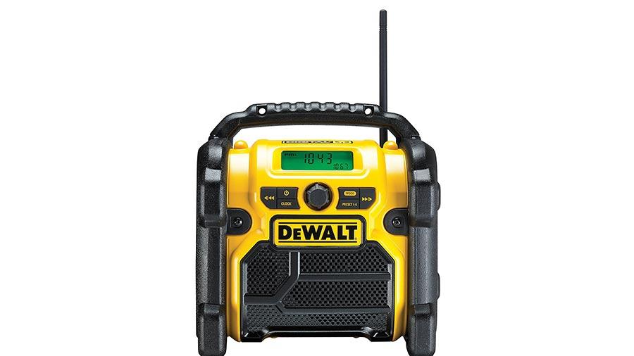 avis et prix Radio de chantier DEWALT DCR020-QW promotion pas cher