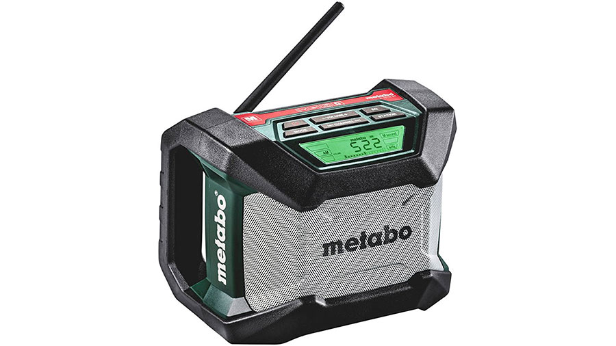 test avis et prix radio de chantier metabo r 12 18 bt. Black Bedroom Furniture Sets. Home Design Ideas