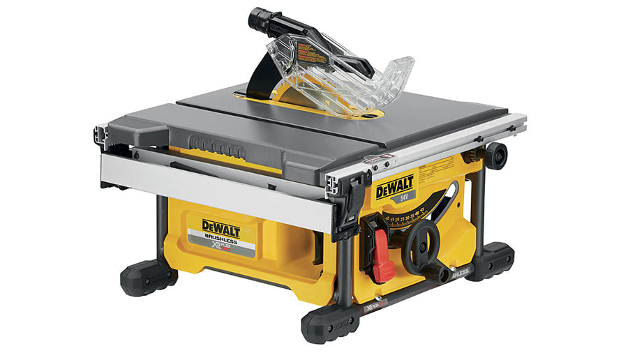 Test complet : Scie à table DEWALT DCS7485 XR FLEXVOLT