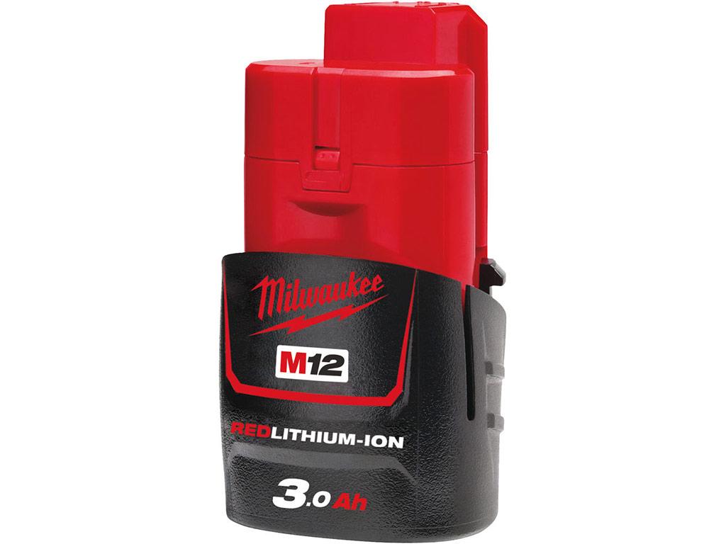 batterie Milwaukee M12 12 V 3,0 Ah M12 B3