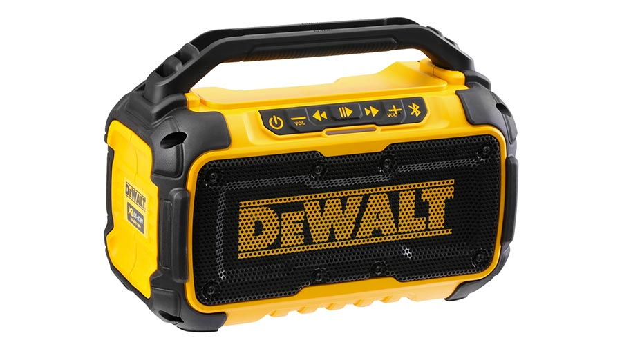 Test complet : Enceinte de chantier DEWALT DCR011-XJ