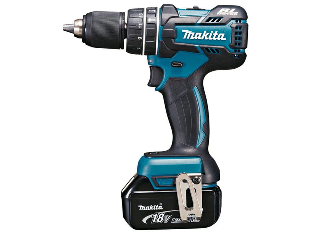 Perceuse-visseuse à percussion brushless Makita DHP480RMJ pas cher