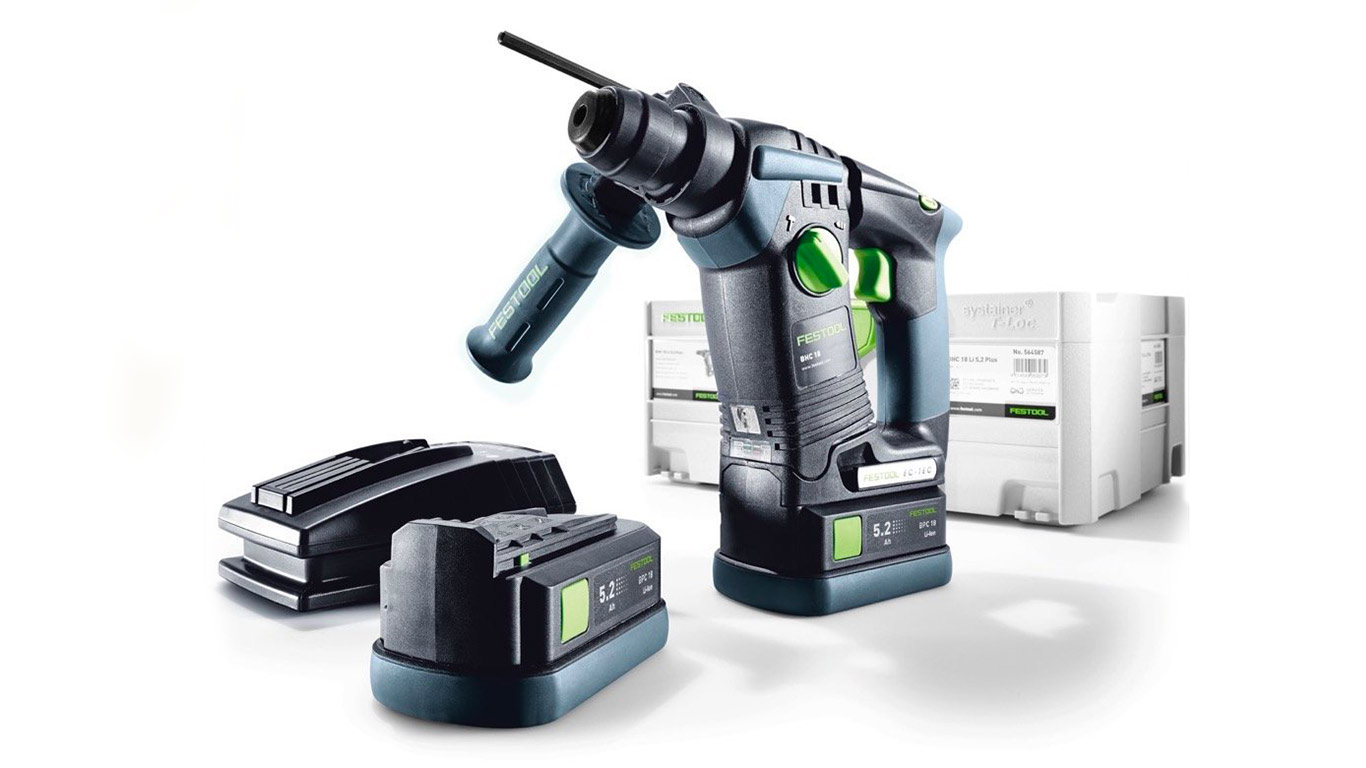Perforateur sans fil BHC 18 Li 5.2-Plus Festool