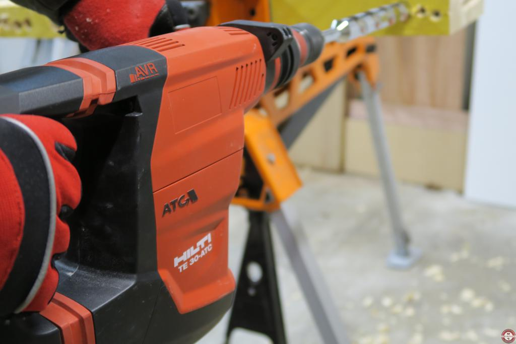 Perforateur Hilti TE 30-ATC/AVR © Zone outillage - Benjamin Leharivel