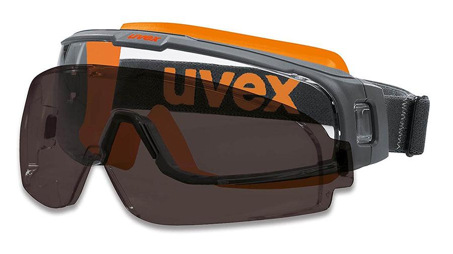 test et prix Lunettes-masque u-sonic Uvex 9308248 Polycarbonate